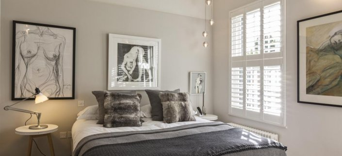 Bedroom - Designed by Clifton Interiors Graham Gaunt Photography.